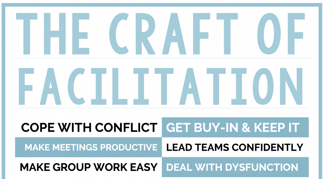 The Craft of Facilitation course by dave dunn